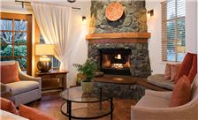 El Pueblo Inn - Hotel Fireplace and Seating Area1