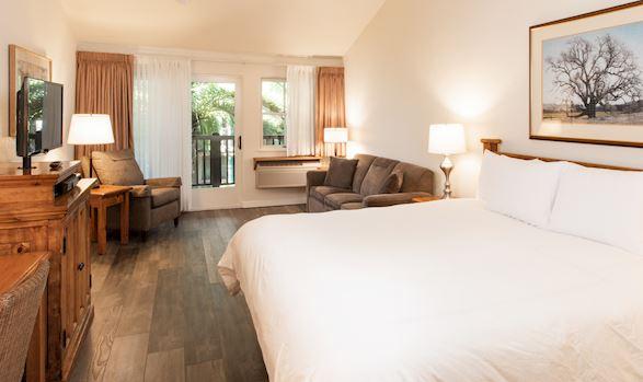 Sonoma Rooms in El Pueblo Inn Sonoma, California